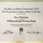 excellence in historic preservation award 2014
