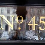 23 karat gold leaf house number